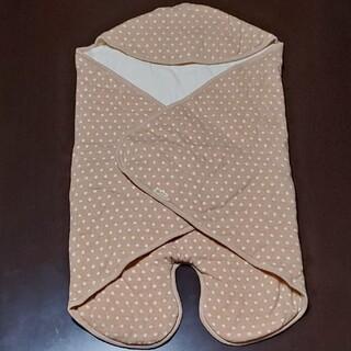 アイジョウセッケイ(愛情設計)のキムラタン 愛情設計 アフガン おくるみ 50~60 ふっくら中綿 日本製(おくるみ/ブランケット)