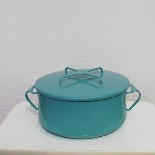 ダンスク(DANSK)のダンスク 両手鍋 コベンスタイル ターコイズ(鍋/フライパン)