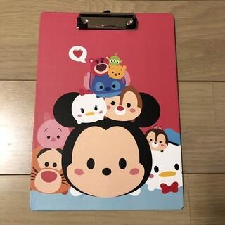 ディズニー(Disney)のディズニー ツムツム ピンク クリップボード(ファイル/バインダー)