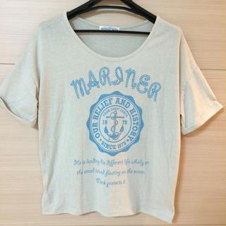アパートメントマーケット(apartment market)のapartment market ロゴT(Tシャツ(半袖/袖なし))