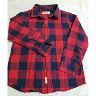 ZARA KIDS - ZARA BOYS チェックシャツ 110センチ
