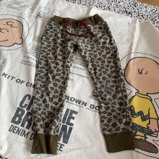 ゴートゥーハリウッド(GO TO HOLLYWOOD)の美品 gotohollywood レオパード   スウェット パンツ 130(パンツ/スパッツ)