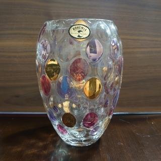 ボヘミア クリスタル(BOHEMIA Cristal)のボヘミアグラス 花瓶(花瓶)