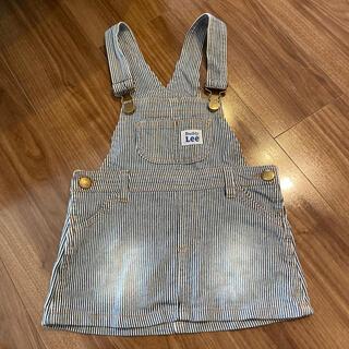 リー(Lee)のLEE サロペットスカート90cm(スカート)