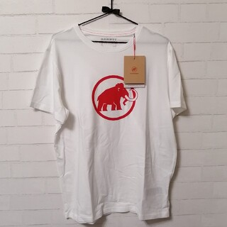 マムート(Mammut)の【新品】Mammut Logo T-Shirt Men アジアXL 白(登山用品)