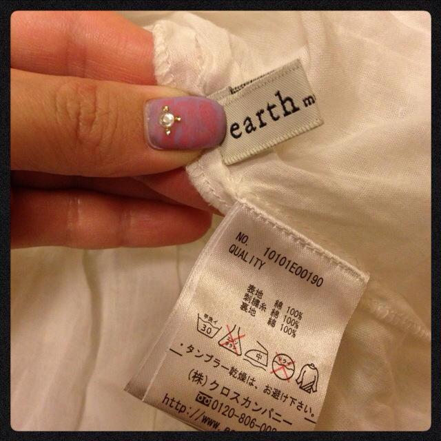 earth music & ecology(アースミュージックアンドエコロジー)の♡earth♡オフホワイトキャミ♡ レディースのトップス(キャミソール)の商品写真
