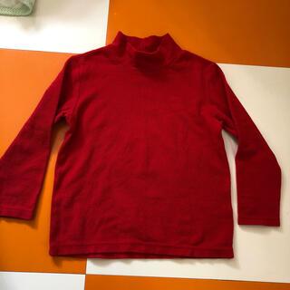 ユニクロ(UNIQLO)のユニクロ★フリース 赤(Tシャツ/カットソー)