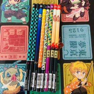 シュウエイシャ(集英社)の鬼滅の刃 正規品 ランダム キャラ 学習 鉛筆 8本セット(キャラクターグッズ)