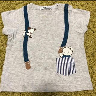 ファミリア(familiar)のファミリア Tシャツ 半袖 80(Tシャツ)