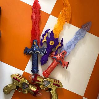 光る剣・光る銃セット(その他)