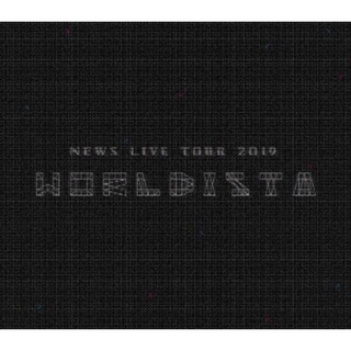 ニュース(NEWS)のNEWS LIVE TOUR 2019 WORLDISTA 初回盤VR付き(ミュージック)