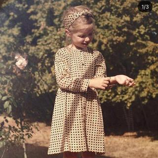 Caramel baby&child  - bonjour diary シャツドレス スカーフ付き 8y