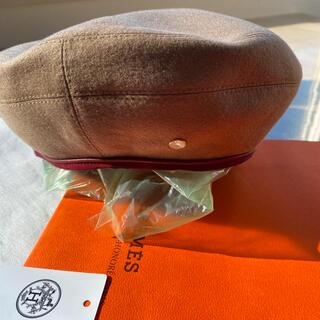エルメス(Hermes)のエルメス サントノーレ ベレー帽(ハンチング/ベレー帽)