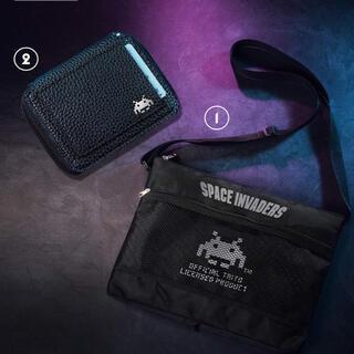 タイトー(TAITO)のスペースインベーダー サコッシュ&ミニ財布(ショルダーバッグ)