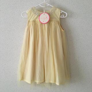デイジー(Daisy)のインポート 海外こども服 チュールワンピース チュールドレス 80(セレモニードレス/スーツ)