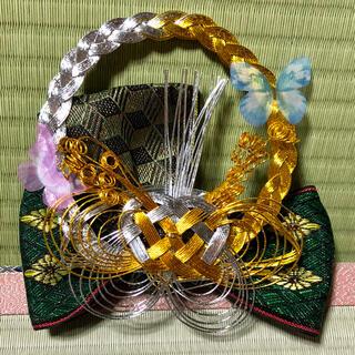 蝶の髪飾り〜畳縁の髪飾り〜(ヘアアクセサリー)