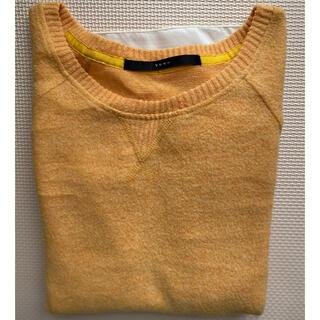 イーブス(YEVS)のYEVS  セーター ニットトップス 黄色い (ニット/セーター)