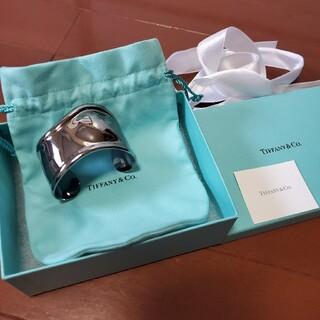 Tiffany & Co. - ♡未使用♡ Tiffany ティファニー ルテニウム ボーンカフ