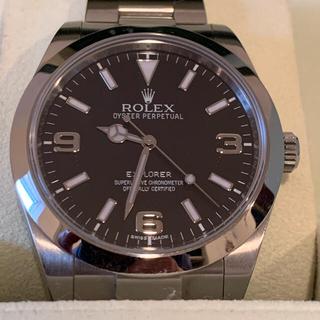 ROLEX - ロレックス エクスプローラ1 214720 ブラックアウト G番