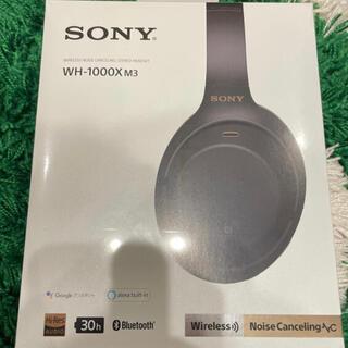 SONY - 【新品】SONY ワイヤレスノイズキャンセルヘッドホン WH-1000XM3/B