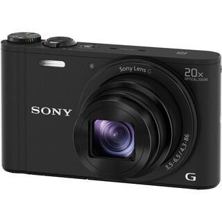 ソニー(SONY)の新品 サイバーショット DSC-WX350 (B) [ブラック](デジタル一眼)