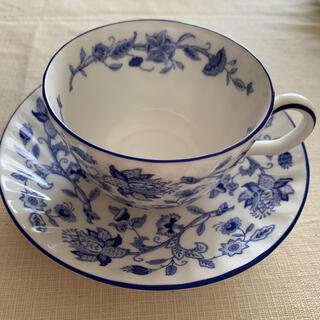 ミントン(MINTON)のミントンカップ&ソーサー ハードウィックブルー(食器)