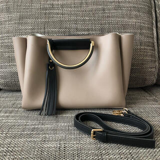 アネモネ(Ane Mone)のレディースバッグ Ane Mone メタルポイントハンドルの2WAYバッグ(ショルダーバッグ)