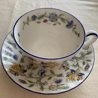 ミントン(MINTON)のミントンカップ&ソーサー ハドンホールブルー(食器)