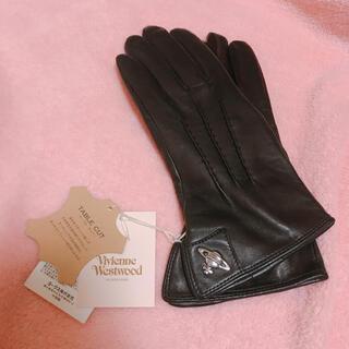 Vivienne Westwood - ヴィヴィアン 【新品未使用】革手袋 レザー手袋 黒 ブラック