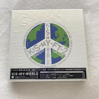 キスマイフットツー(Kis-My-Ft2)のKis-My-Ft2 ライブDVD KIS-MY-WORLD(初回生産限定盤) (ミュージック)