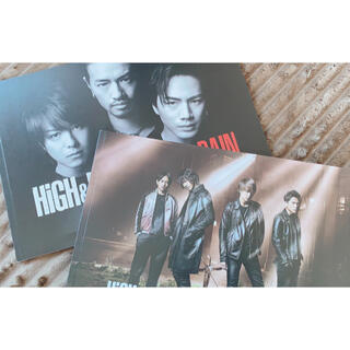 エグザイル トライブ(EXILE TRIBE)の映画 HiGH&LOW パンフレット(日本映画)