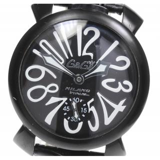ガガミラノ(GaGa MILANO)のガガミラノ マヌアーレ48 5012.06S メンズ 【中古】(腕時計(アナログ))