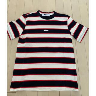 エムエスジイエム(MSGM)のMSGM ボーダー Tシャツ(Tシャツ/カットソー(半袖/袖なし))