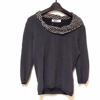 ヴァレンティノ(VALENTINO)のバレンチノ 七分袖セーター サイズM -(ニット/セーター)