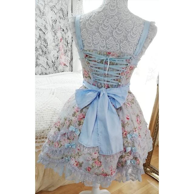 Angelic Pretty(アンジェリックプリティー)のアンジェリックプリティージャンパースカート レディースのワンピース(ひざ丈ワンピース)の商品写真