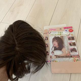 プリシラ(PRISILA)の【新品】プリシラ ウィッグ TFX-100  ダークブラウン(前髪ウィッグ)