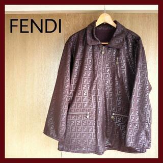 FENDI - セール!【フェンディ】GILMAR 2wayで楽しめるリバーシブル コート 茶色