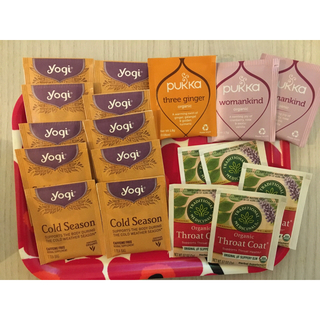 カルディ(KALDI)のハーブティー 寒い季節に お試し18点(健康茶)