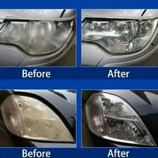 コーティングH5完全硬化型ヘッドライトコーティング剤 UV吸収剤配合で黄ばみ防止