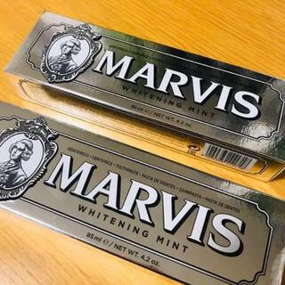 マービス(MARVIS)の新品未使用 2個セット マービス ホワイトミント (歯磨き粉)