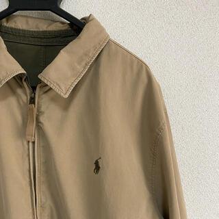 ポロラルフローレン(POLO RALPH LAUREN)のPolo Ralph Lauren リバーシブル ジャケット ワンポイント 刺繍(ミリタリージャケット)