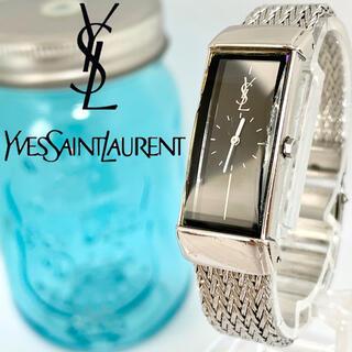 Saint Laurent - 70 イヴサンローラン時計 レディース腕時計 新品電池 スクエア