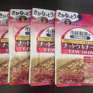 コバヤシセイヤク(小林製薬)の小林製薬 ナットウキナーゼ  EPA DHA 30日分×4袋(ダイエット食品)