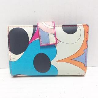 エミリオプッチ(EMILIO PUCCI)のエミリオプッチ 2つ折り財布 - レザー(財布)