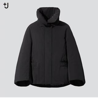 ジルサンダー(Jil Sander)の新品 ユニクロ +J ジルサンダー ハイブリッドダウンジャケット XS ブラック(ダウンジャケット)