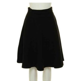 スライ(SLY)のスライ  SLY フレアスカート フェイクウール  ブラック(ひざ丈スカート)