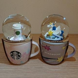 スターバックスコーヒー(Starbucks Coffee)の【専用ページ】スターバックス スノードーム&マグカップ(置物)