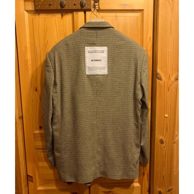 Balenciaga(バレンシアガ)のvetements テーラードジャケット メンズのジャケット/アウター(テーラードジャケット)の商品写真