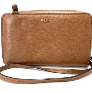ラルフローレン(Ralph Lauren)のラルフローレン 財布 - ブラウン レザー(財布)