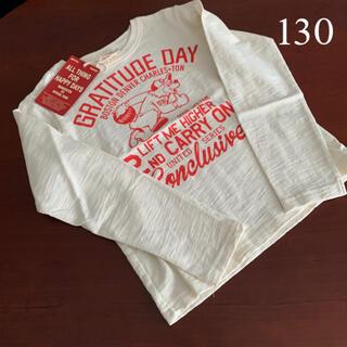 ニードルワークスーン(NEEDLE WORK SOON)の⭐️未使用品 ニードルワーク オフィシャルチーム 長袖Tシャツ 130サイズ(Tシャツ/カットソー)